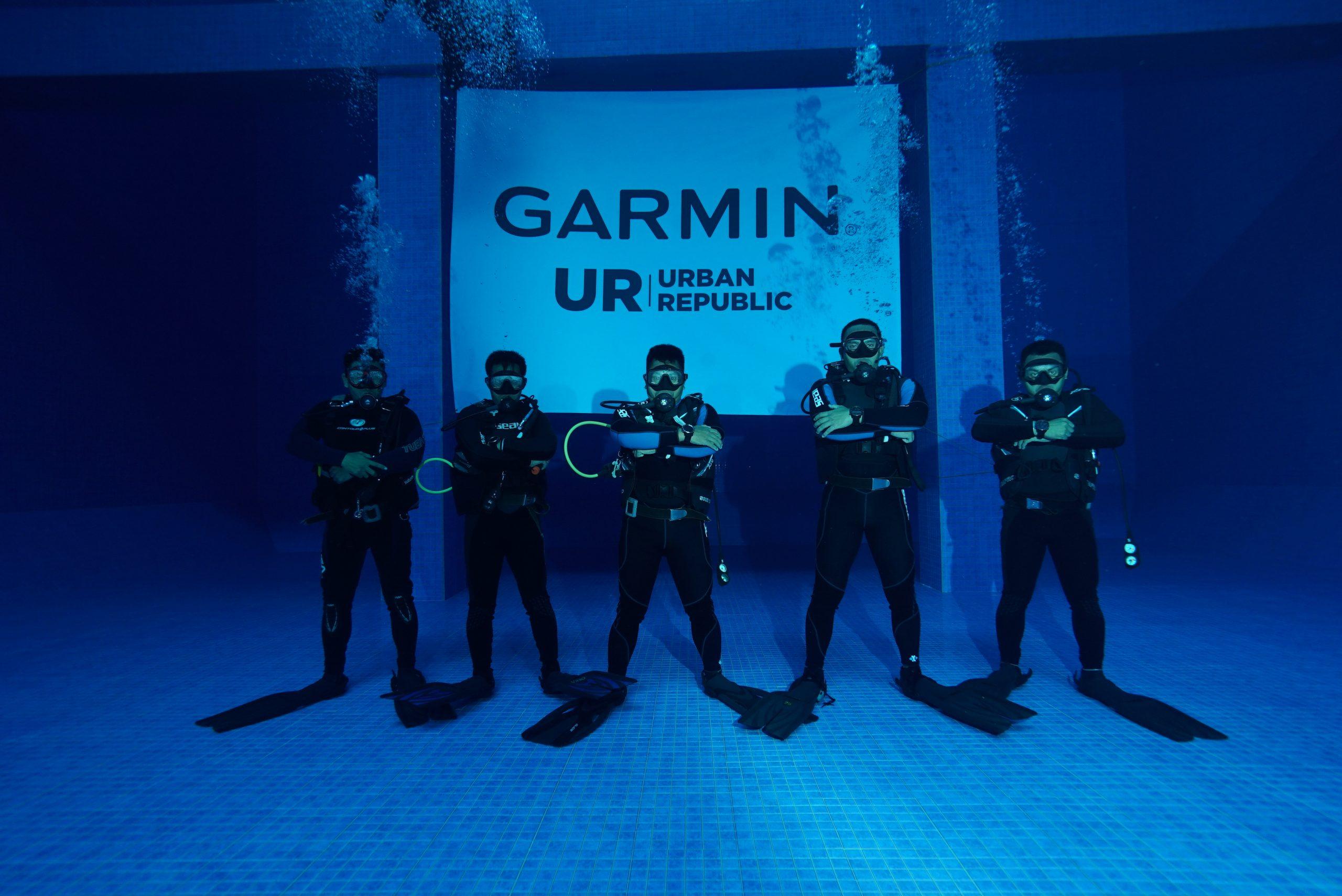 Diving Class x Garmin Urban Republic